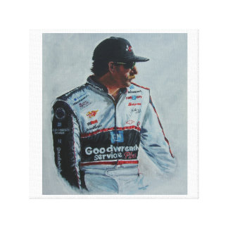 Print of a Painting of Dale Earnhardt, sr.