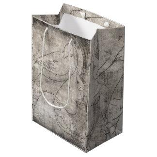 Print of to girl medium gift bag