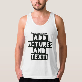 Print on a Tank Top - Add images and text!
