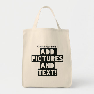 Print on a TOTE BAG - add Pics and Text!