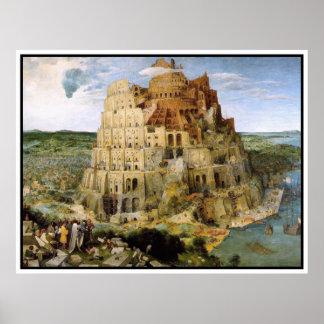 Print/Poster: Tower of Babel - Peter Bruegel Poster