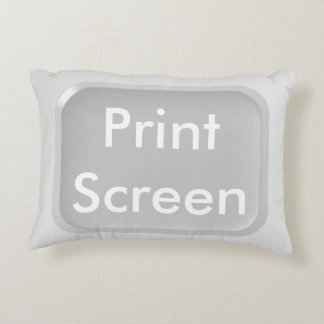 Print-Screen Key Decorative Cushion