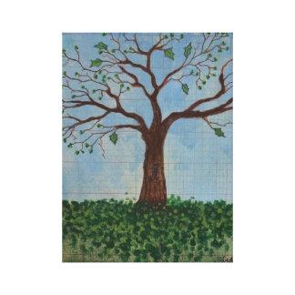 Print: Spring Tree Gallery Wrap Canvas