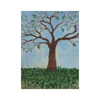Print: Spring Tree Gallery Wrap Canvas