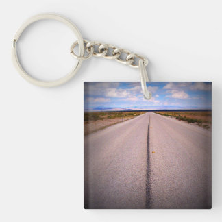 Print Square Phone Photo Double-Sided Square Acrylic Key Ring