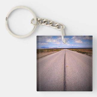 Print Square Phone Photo Key Chain