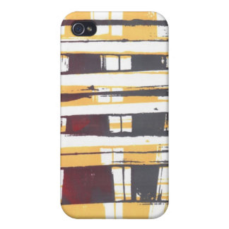 Print Squares 1 iPhone 4/4S Cases
