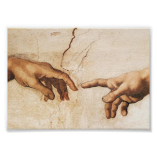 Print - The Creation of Adam