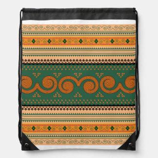 printable patterns drawstring backpack