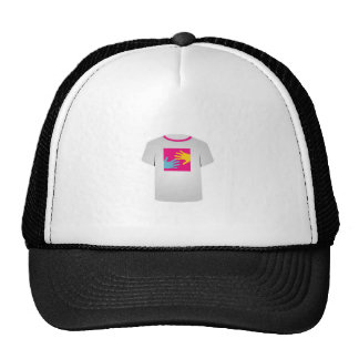 Printable tshirt- Pop art graphic Cap
