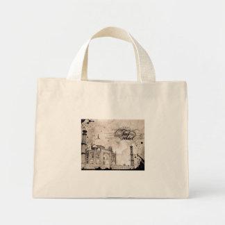Printed Handbag Mini Tote Bag