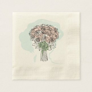 Printed paper towels paper napkin