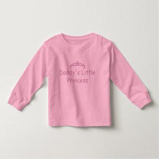 Printed Rhinestone Daddy's Little Princess Tees