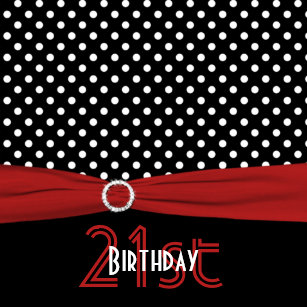 red and black 21st birthday invitations zazzle au