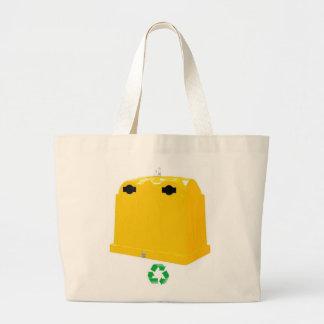 Printed stock market jumbo tote bag