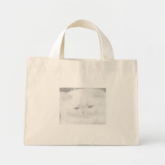 Printed stock market with mini tote bag
