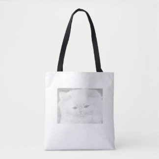 Printed stock market with tote bag