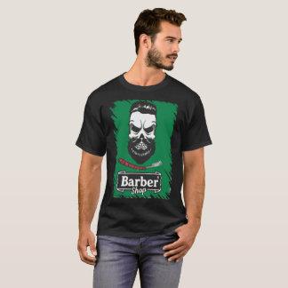 Printed t-shirt Masculine Barber Shop