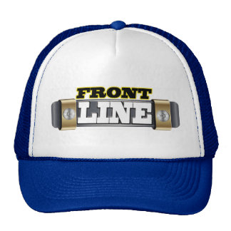 printed truckers hat
