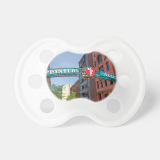 Printer's Alley Baby Pacifier