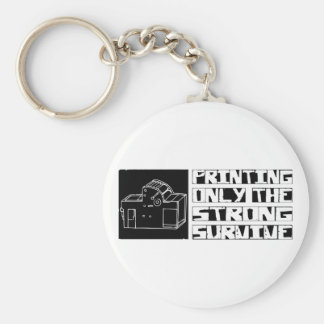 Printing Survive Key Ring