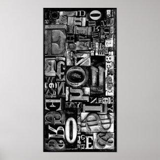 Printing Type Poster