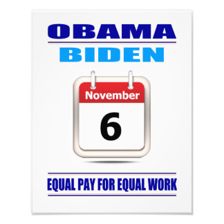 Prints: Equal Pay For Equal Work Photo Art