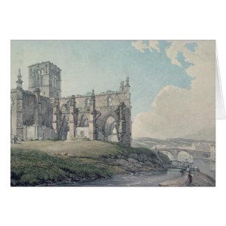 Prior Church, Haddington, 1786 Card