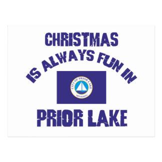 PRIOR LAKE CHRISTMAS DESIGNS POST CARDS