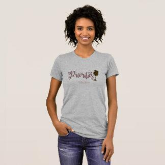 Priorities Wine Glass- T-shirt