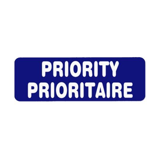 Priority Stickers