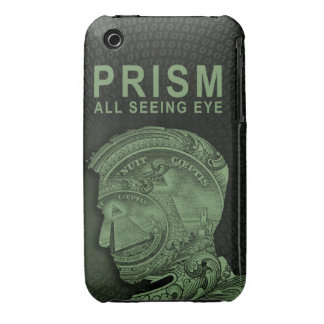 PRISM - All Seeing Eye - Green iPhone 3 Case