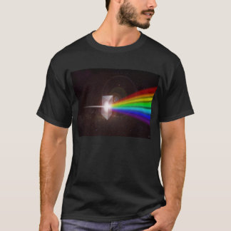 Prism Color Spectrum Space Stars Galaxy  DE LaRue T-Shirt