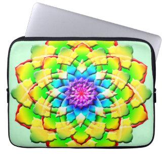 Prism Flower Mandala Laptop Computer Sleeve