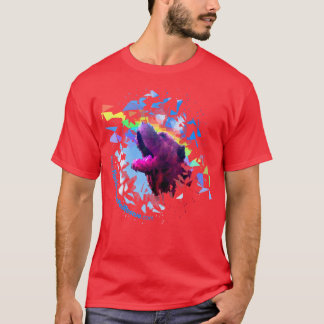 Prism Pei T Shirt Red