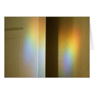 Prism Rainbows on Door & Wall Card