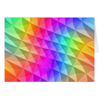prism squares pattern card
