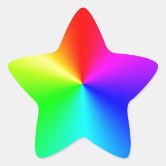 Prism Star Sticker