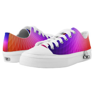 Prismatic Color Design Printed Shoes