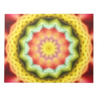 Prismatic Eye Mandala Notepad