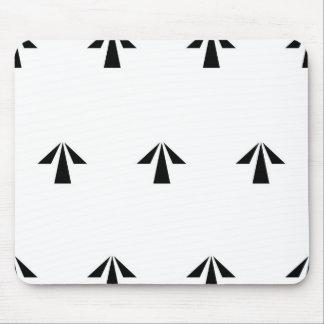 Prison Arrows Mouse Pad