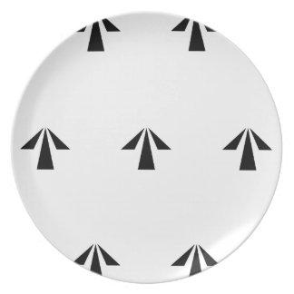 Prison Arrows Plate