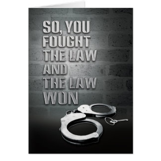 Prison Cards - Law Won