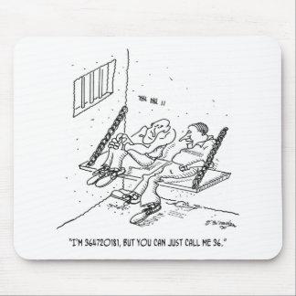 Prison Cartoon 3826 Mouse Pad
