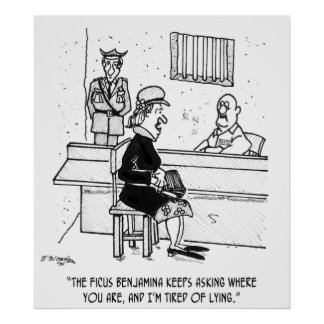 Prison Cartoon 9493 Poster