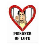 Prisoner of Love Post Cards