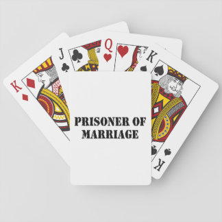 Prisoner of Marriage Playing Cards