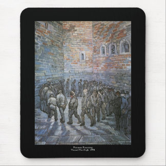 Prisoners Exercising by Vincent van Gogh Mouse Pad