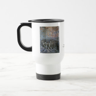 Prisoners Exercising by Vincent van Gogh 15 Oz Stainless Steel Travel Mug