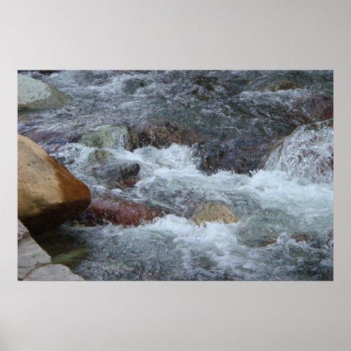 Pristine - Mountain Waters Print